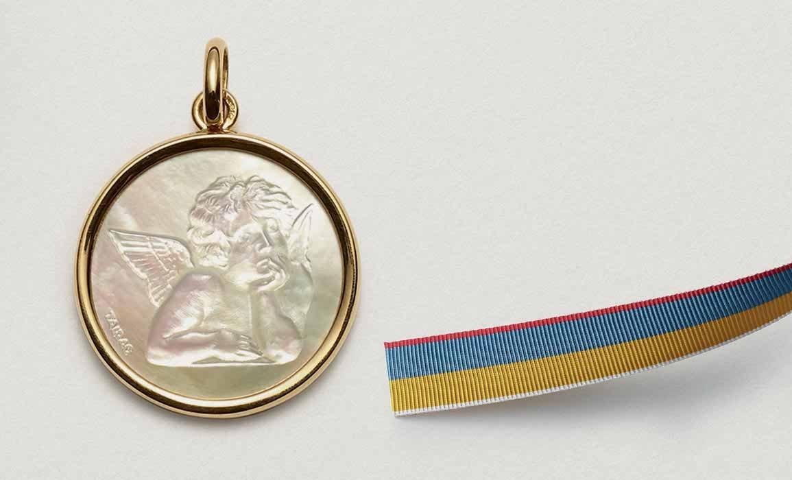 médaille de baptême garçon - ARTHUS BERTRAND