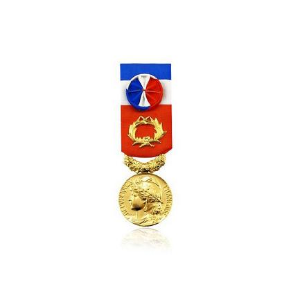 Médaille du travail 40 ans- DRAGO PARIS